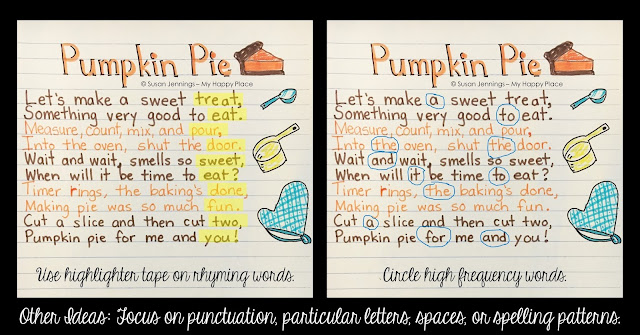 Pumpkin Pie Poem