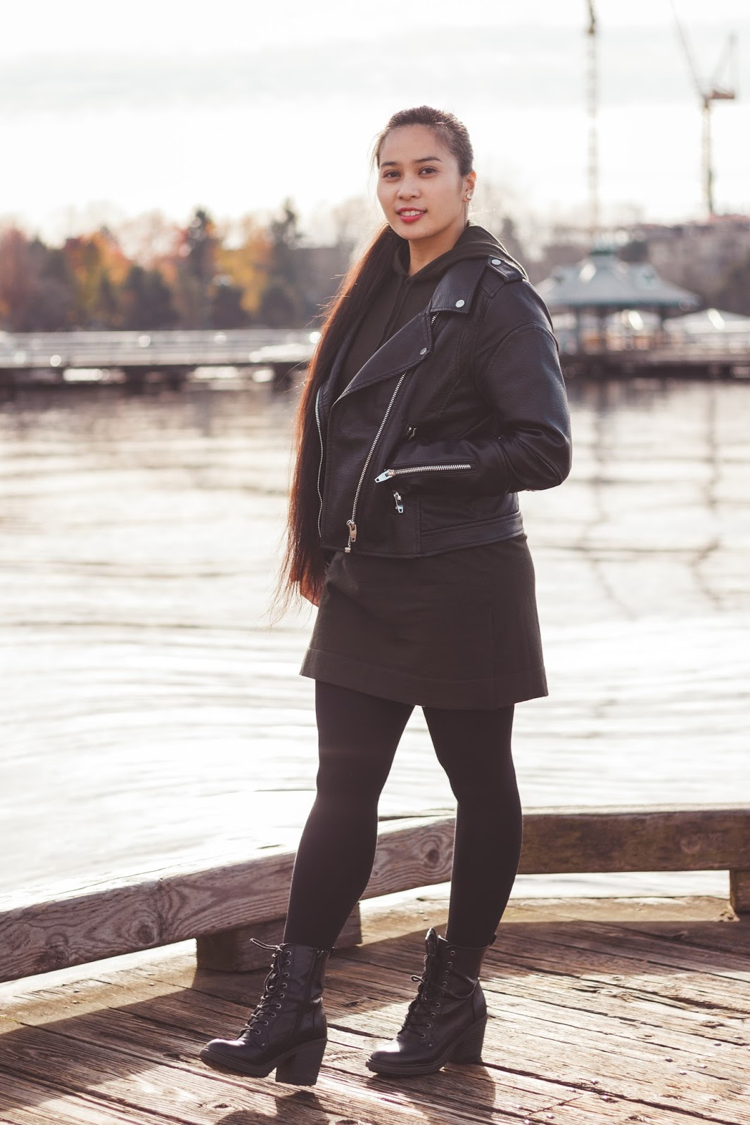 renton fashion outfit blogger seattle jacket forever 21 blanknyc