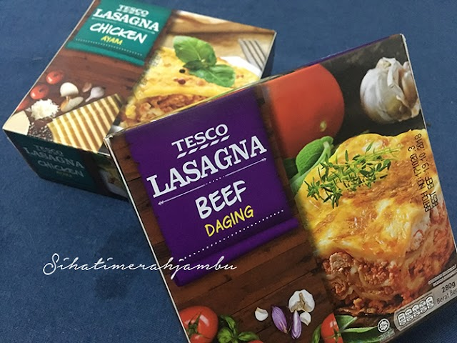 Lasagna Frozen Tesco Murah