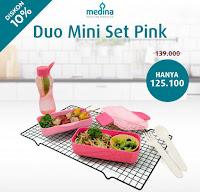 Dusdusan Duo Mini Set Pink ANDHIMIND