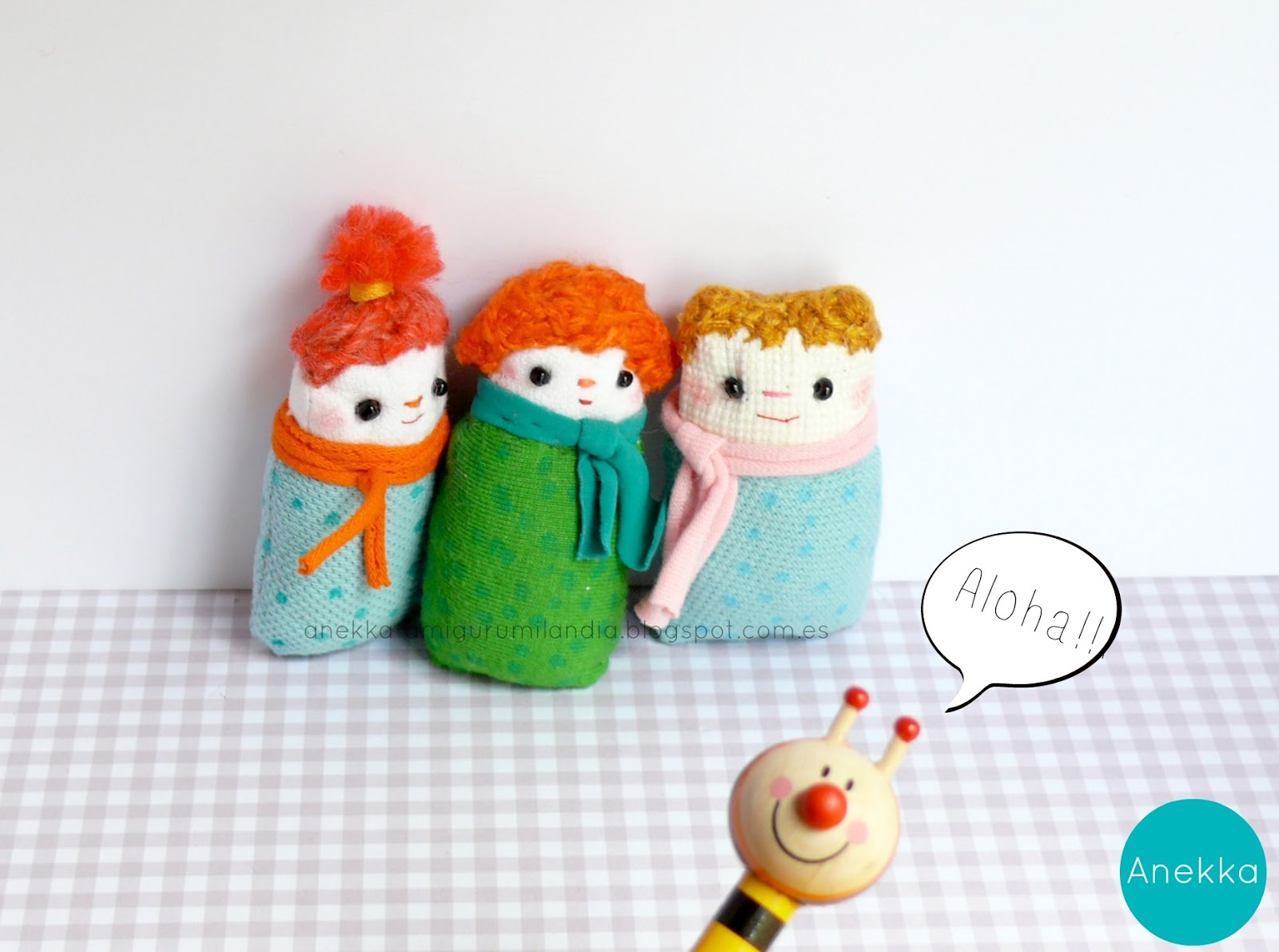 cute handmade dolls plush