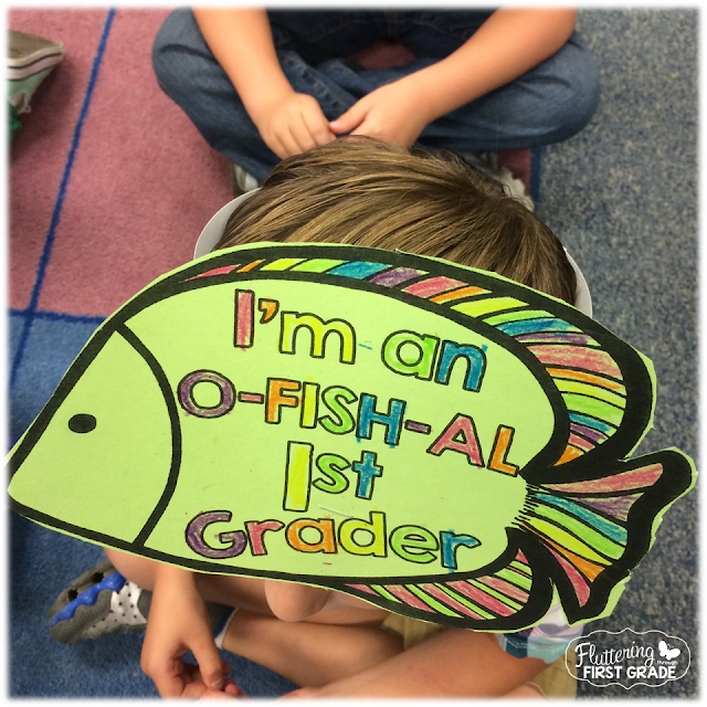 Ocean Themed Classroom & First Day of School Freebie