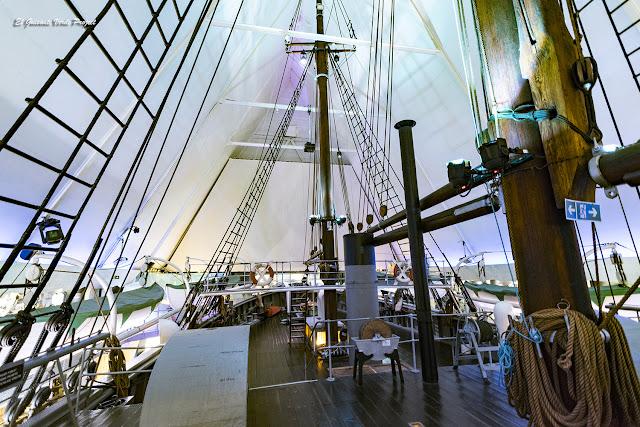 Cubierta del Fram - Museo Fram, Oslo por El Guisante Verde Project
