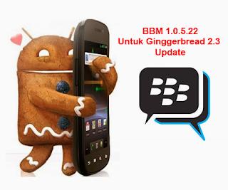 Download Update BBM Ginggerbread Android 2.3 Versi 1.0.5.22 .Apk 15 Juni 2015