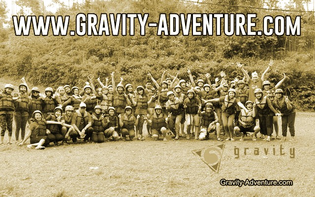 paket rafting pangalengan gravity adventure