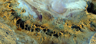 nature imitating art,abstract landscapes of deserts of Africa,Abstract Naturalism,abstract photography deserts of Africa from the air,abstract surrealism,mirage in desert,abstract expressionism