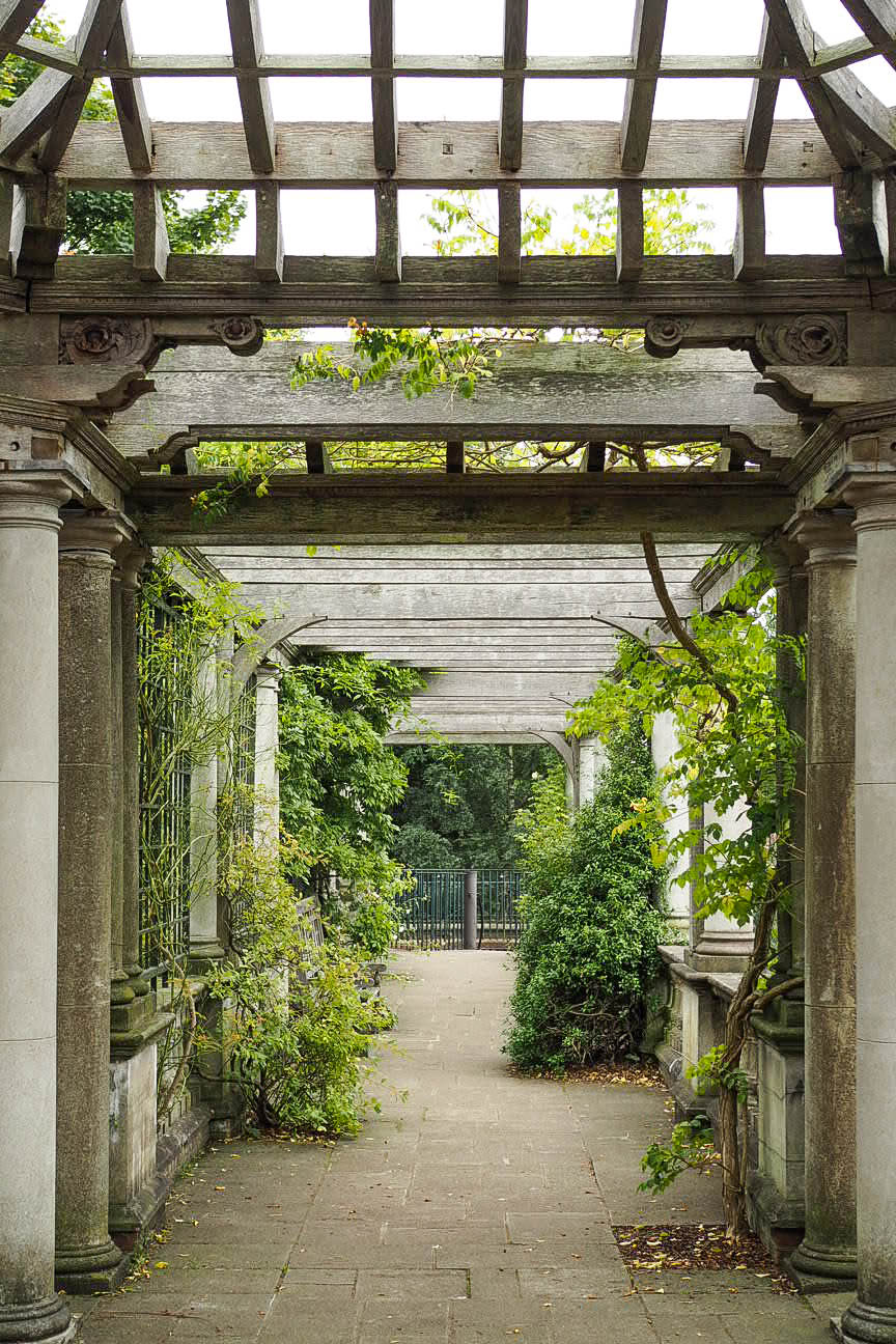 Hampstead secret garden