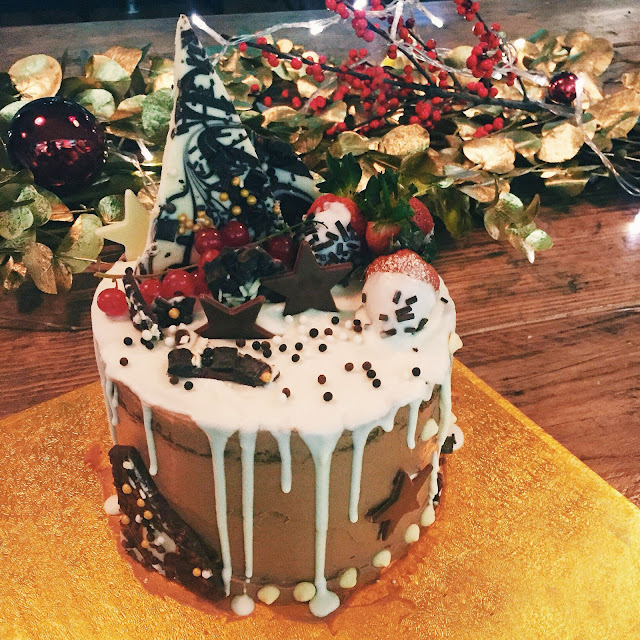 The Ultimate Chocolate Christmas Cake