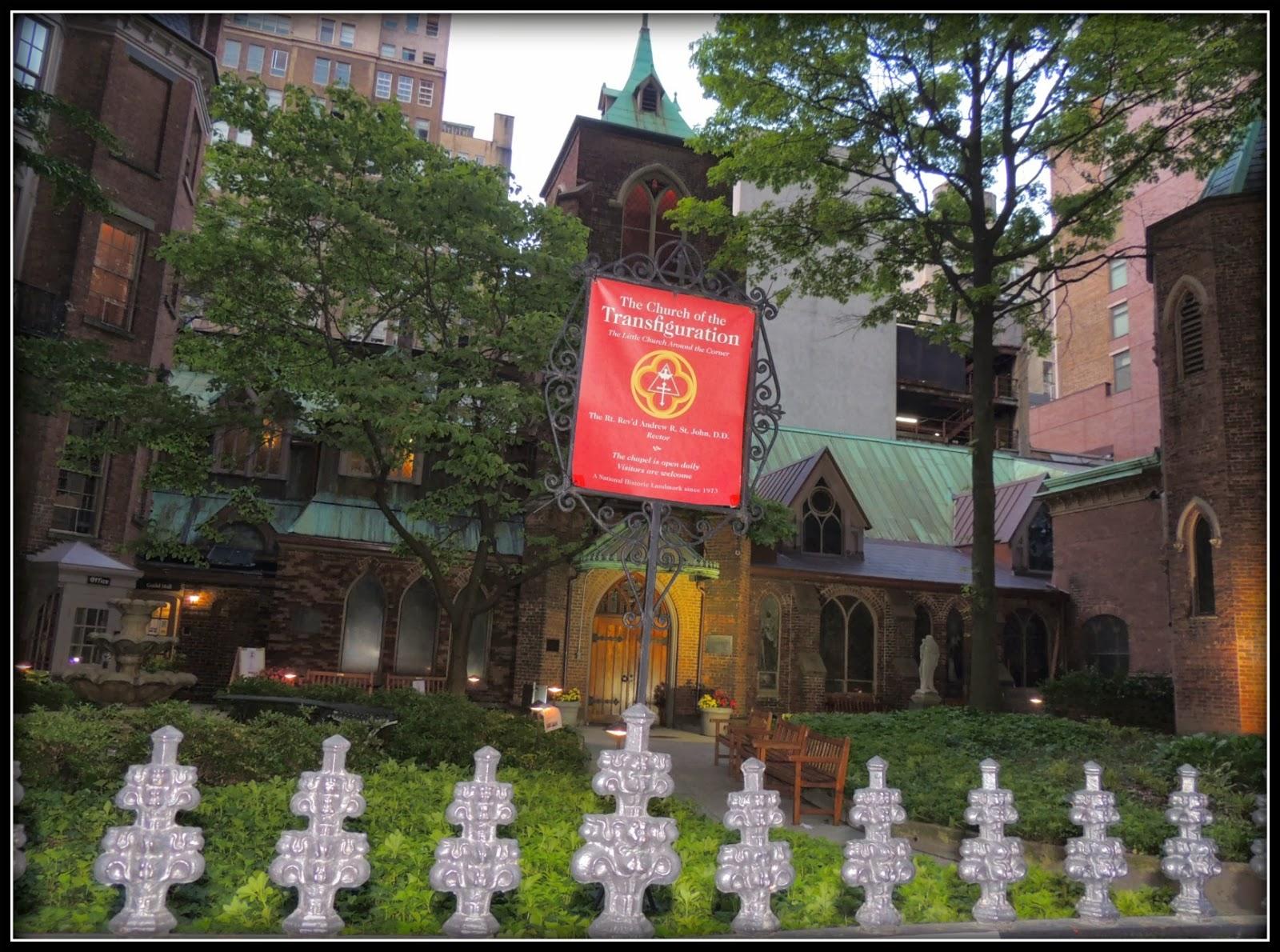 Nueva York en 3 Días: Iglesia Episcopal de la Transfiguración
