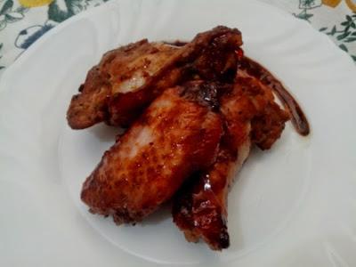 Alitas de Pollo con Salsa de Soja