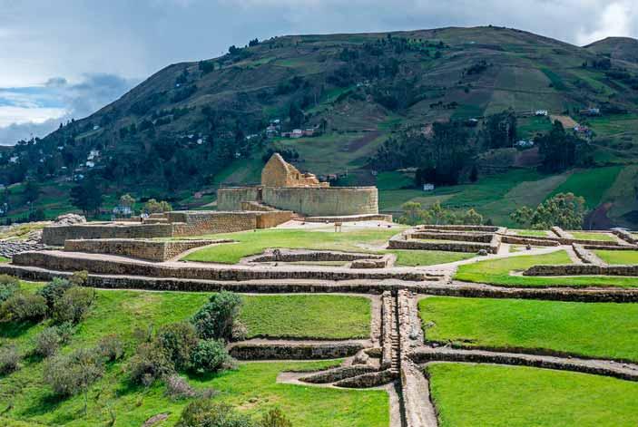 Tuirsmo en Ecuador Ruinas de Ingapirca