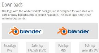 download logo blender 3d
