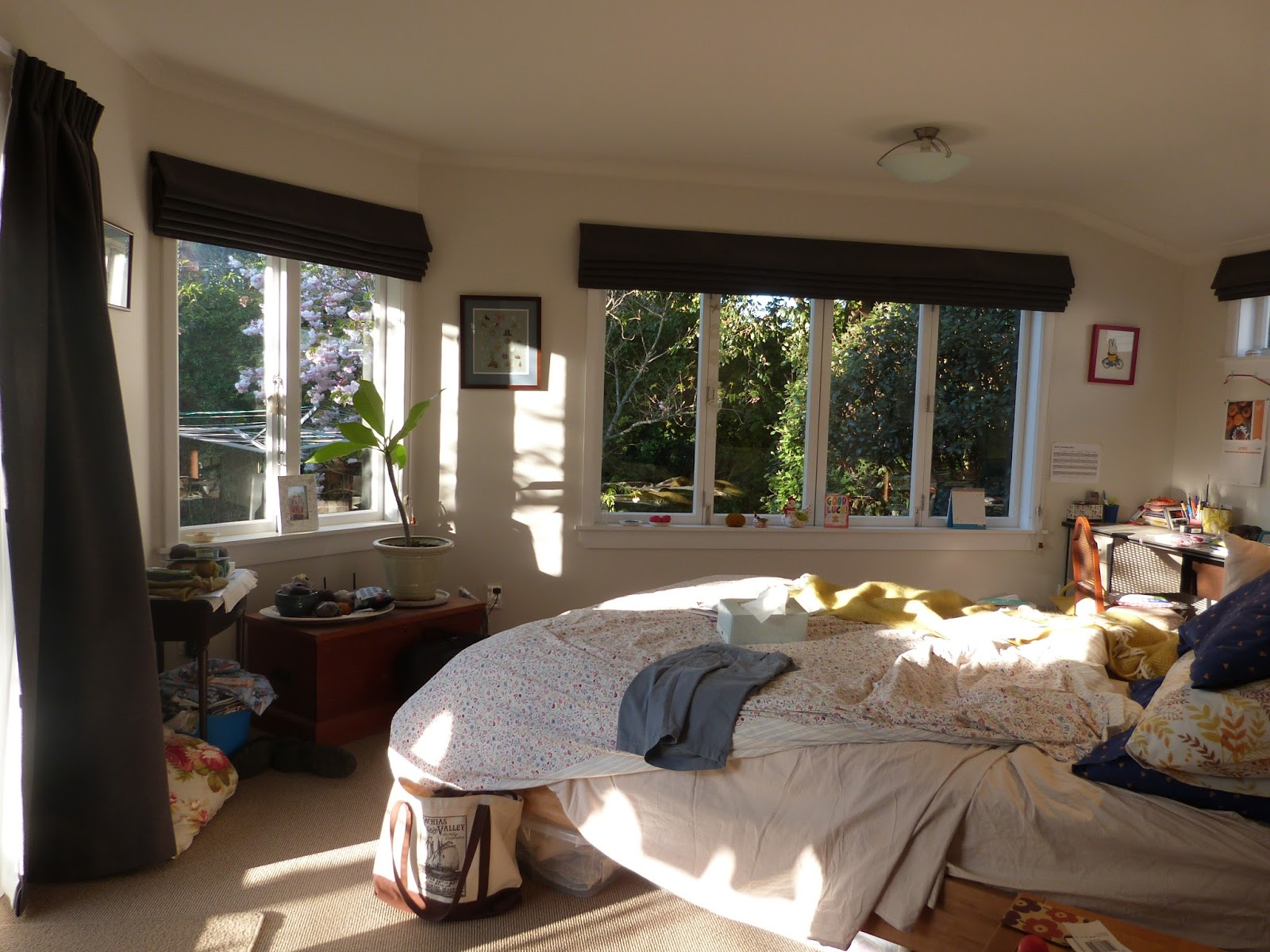 Creative Chaos: Bedroom Sun
