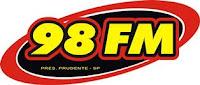 Rádio 98 FM de Presidente Prudente SP ao vivo