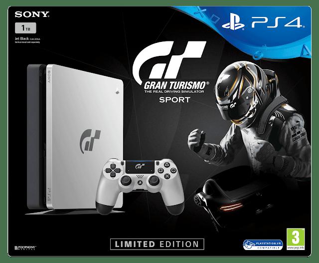 Gran Turismo presenta sus packs de PlayStation 4 para su lanzamiento