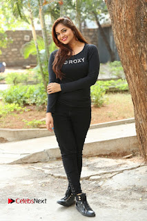 Actress Aswini Latest Stills in Black Denim Jeans  0212.JPG