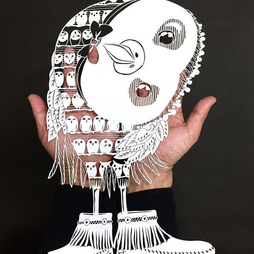 356934a3279e My Owl Barn  Hand-cut Paper Artwork With Incredible Details by Mr. Riu