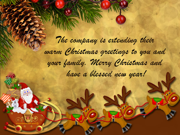 Best christmas greetings messages to boss image collection merry christmas card messages for boss m4hsunfo