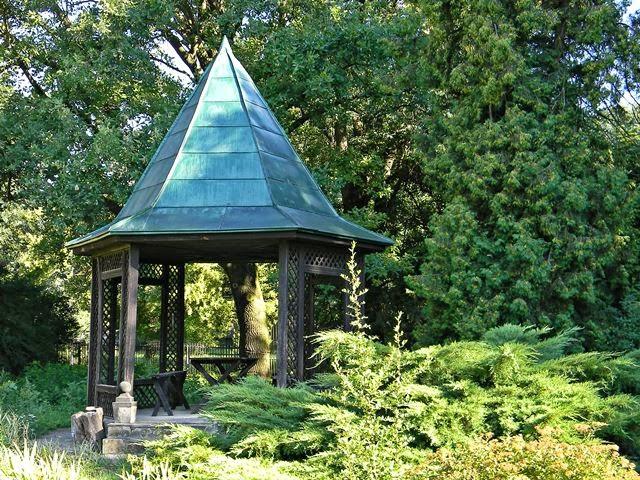altana ogrodowa, Fraczków, zielony