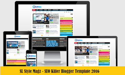 SL Style Magz - Template Blog SEO Killer Responsive Terbaru 2016