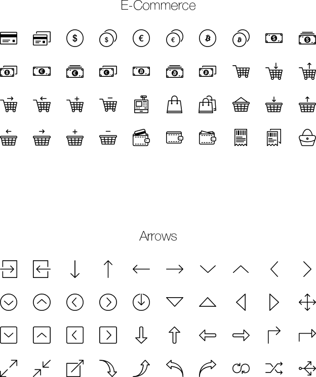 icons E-Commerce-Arrows png