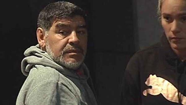 Maradona interrogado por presuntamente agredir a su pareja en Madrid