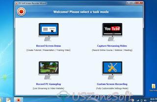 zd soft screen recorder screenshots creator game recorder screen capture broadcasting software review download