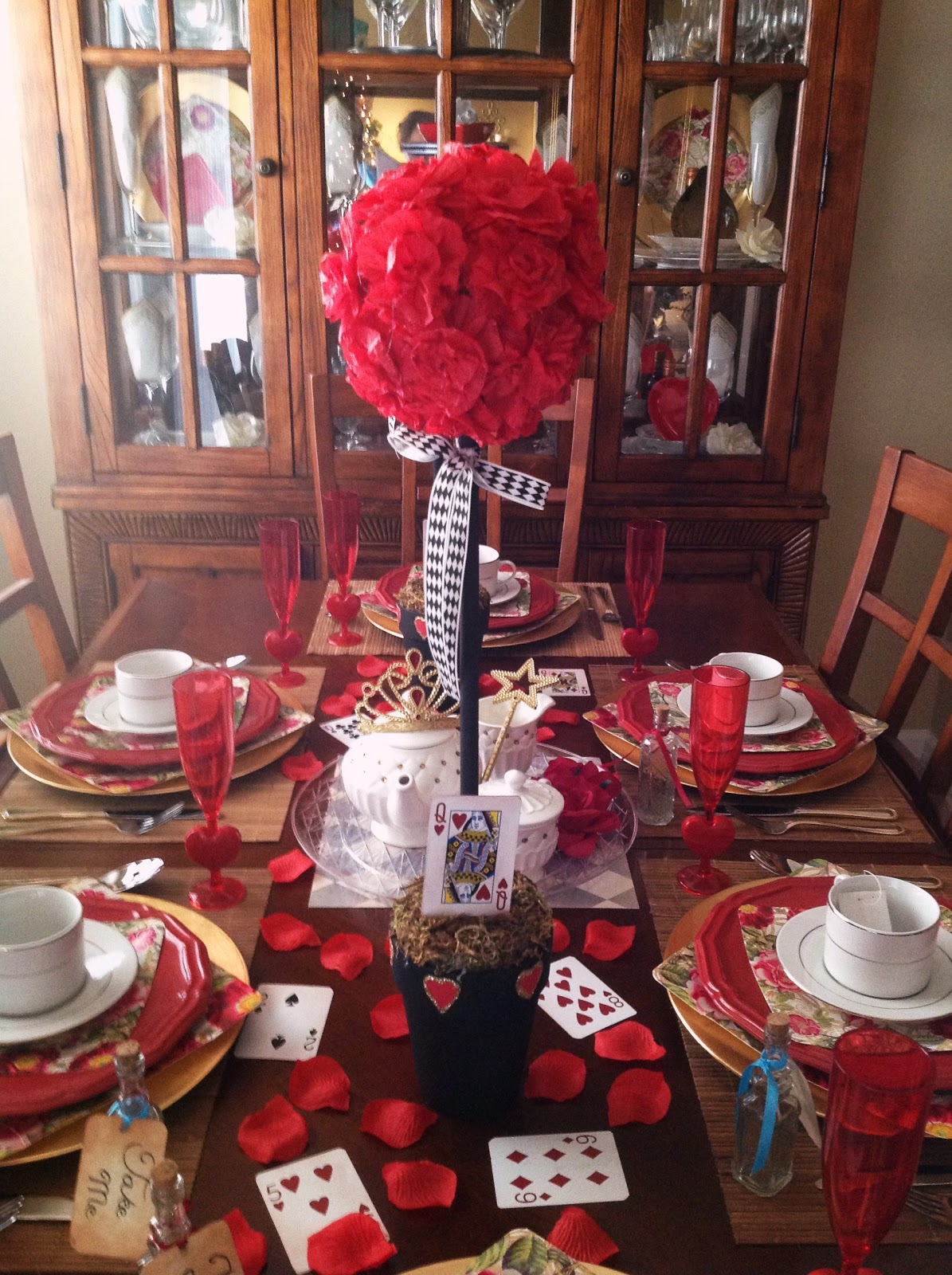Craft Room Secrets Alice In Wonderland S Red Queen