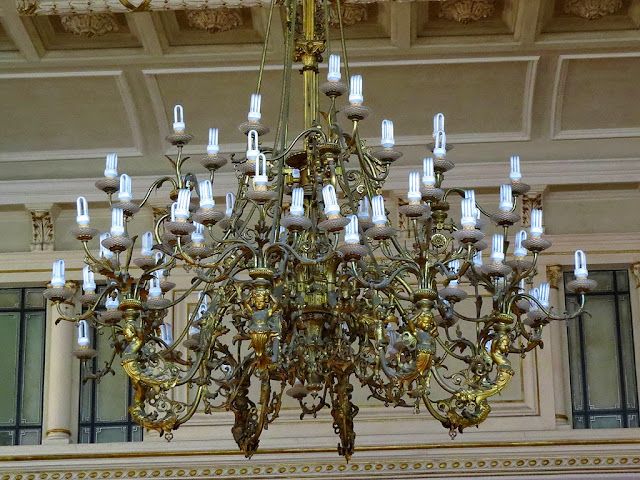 Council chamber chandelier, Town Hall, Livorno