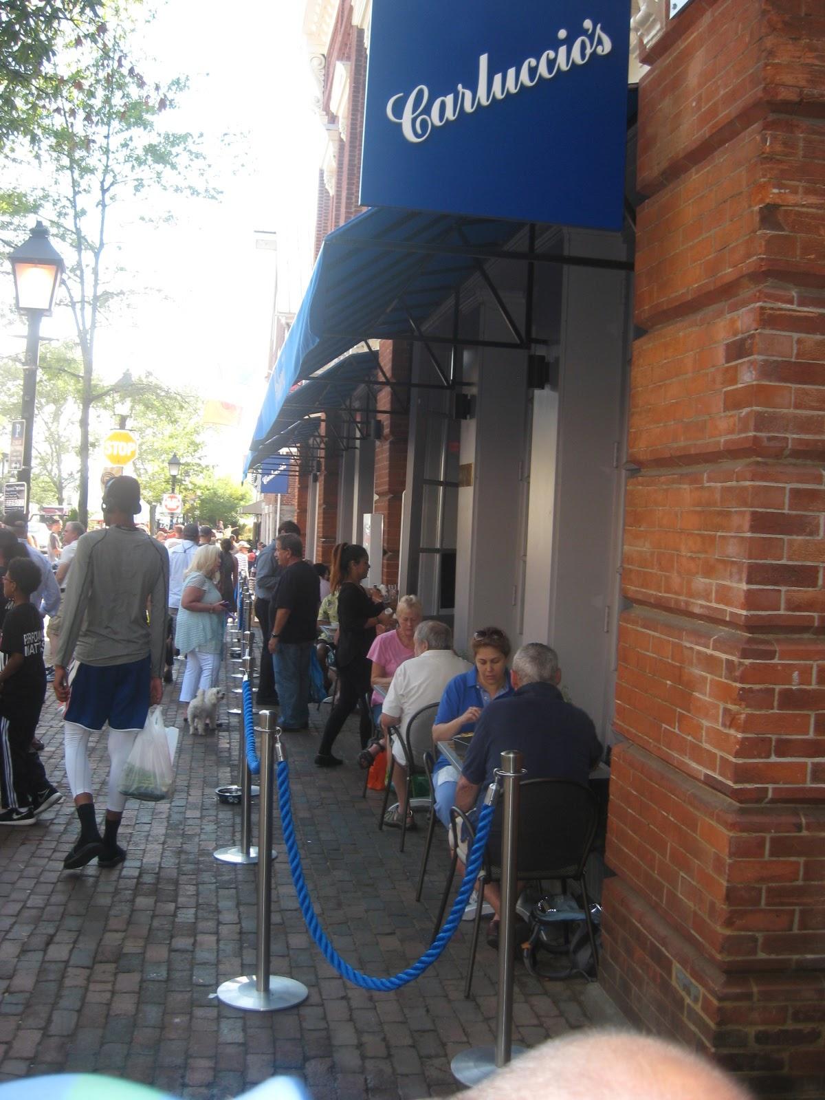 Northern Virginia Restaurant Blog Carluccio S Caffe