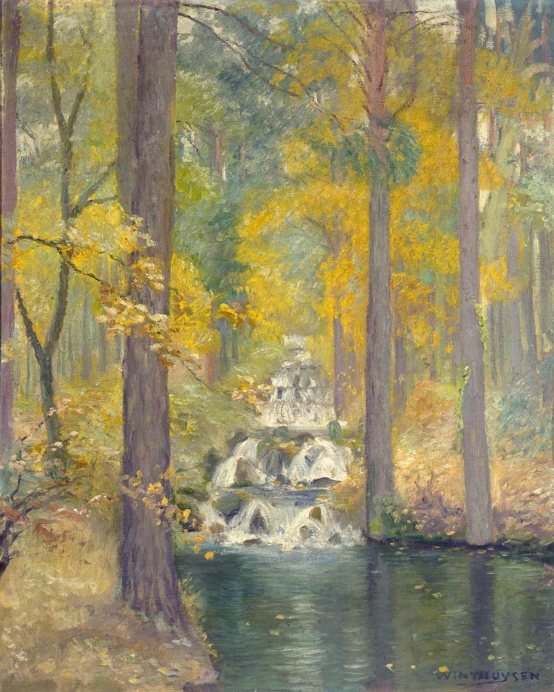 Cascada, 1919  | Javier de Winthuysen y Losada