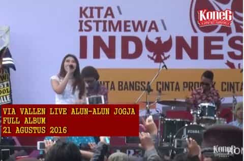 Download via Vallen live Jogja 21 Agustus 2016 full album