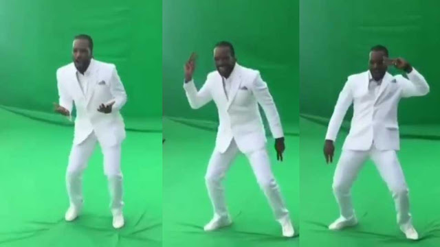 Cricketer Chris gayle Dance on Sapna Choudhary Dancing Number