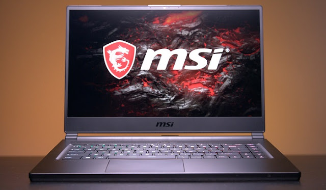 Laptop Gaming Terbaik - MSI GS65 Stealth Thin