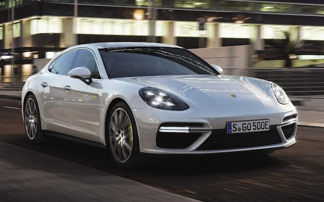Porsche Panamera Turbo S Hybrid