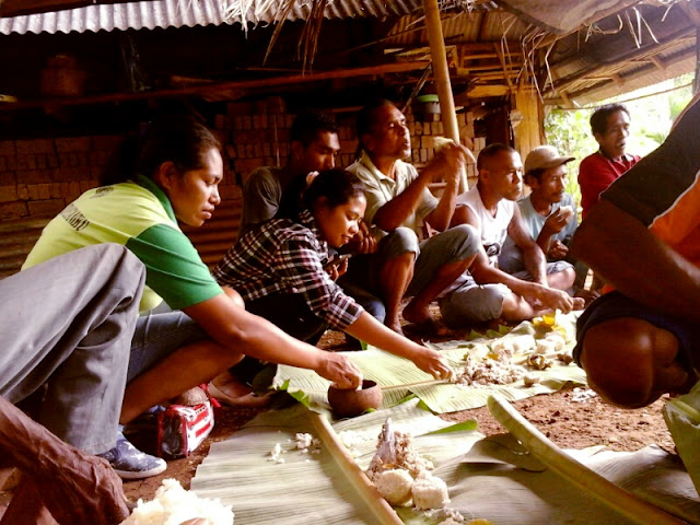 Masakan bambu desa kolilanang