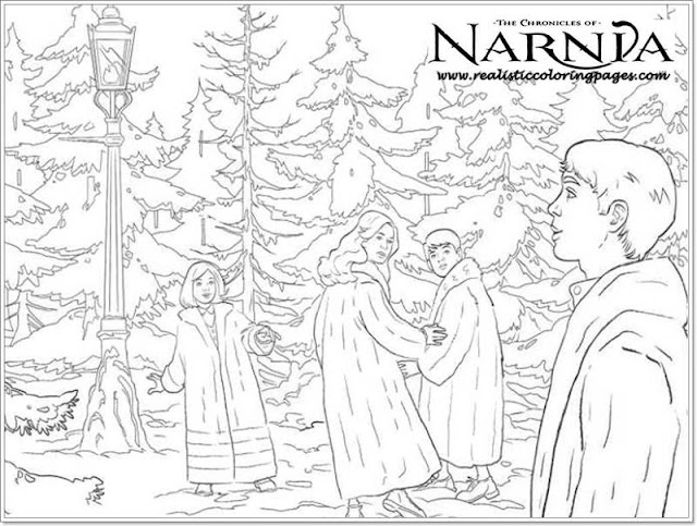 The Chronicles Of Narnia Printable Coloring Pages