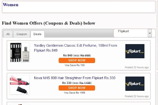 Coupondesh.com, Best Deals and Coupons, Offers Best Prices for Mobiles & Dresses, coupon website review