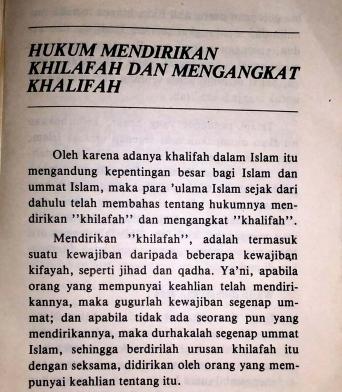 Buku Khalifah Karangan K.H Moenawar Khalil