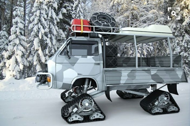 Tracked VW T3 Vanagon