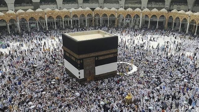 Pria Asing Terjun dari Atap Masjidil Haram