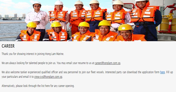 Port Engineer Join in Singapore - Seaman jobs | Seafarer Jobs