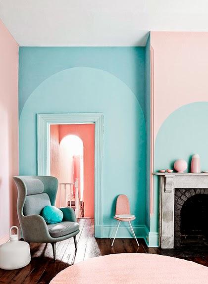 Interior trend 2015 - Bright pastel palette