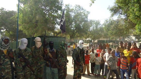 Al-Shabaab have raised the black flag of tawheed over the strategic port city of Marka after a surprise offensive against African Union troops