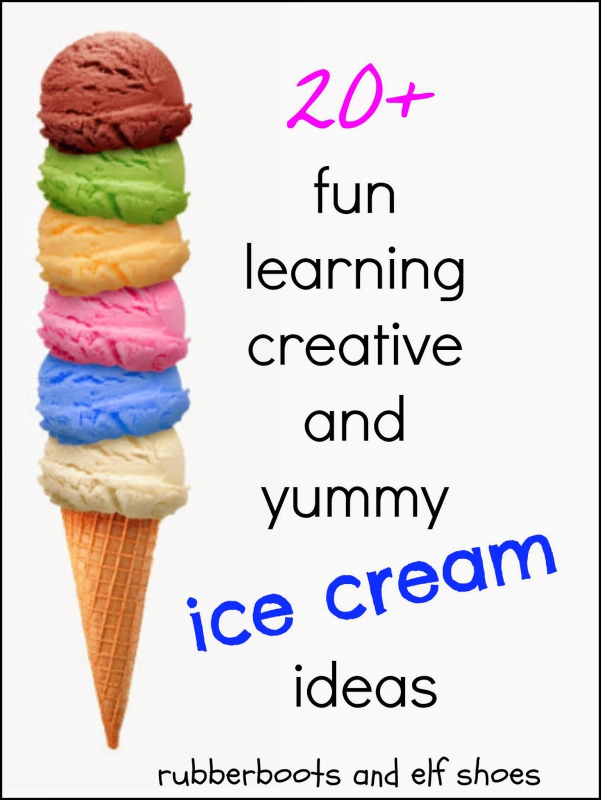 Ice Cream Activities For Children