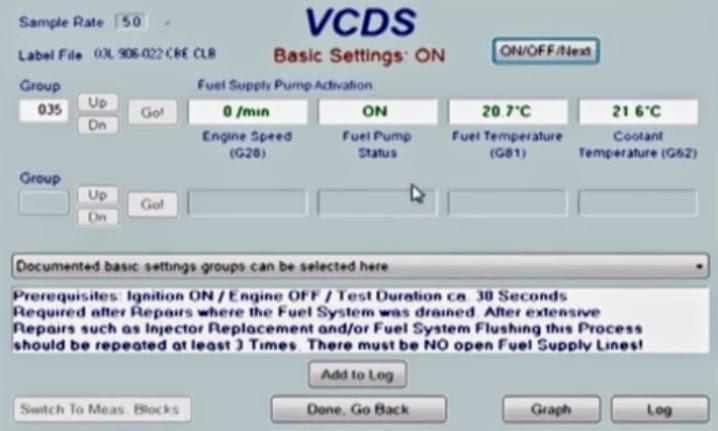 Fai Ho Fu's Blog: How to VCD Vagcom Prime / Purge your Fuel System