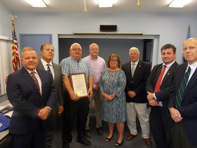Freeholders Laud Rockaway Borough for Hosting County Government