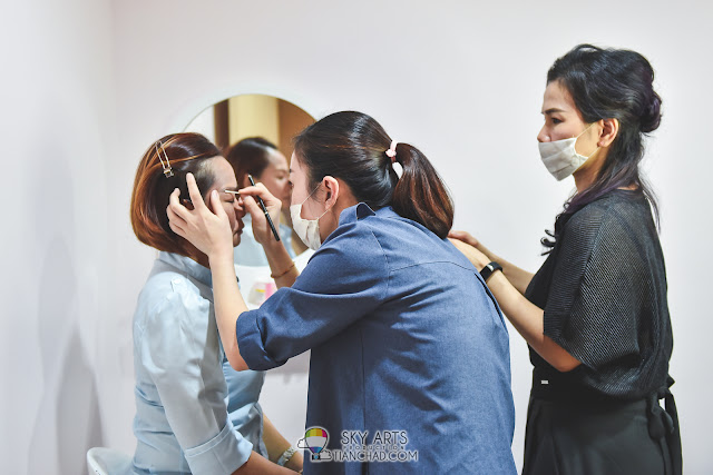Professional Contour and Eyebrow Embroidery Course by Ivy Brow Design in Malaysia