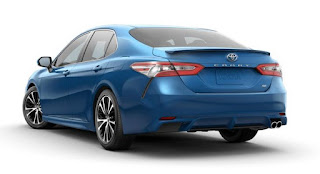 Toyota Camry Exterior Dimensions