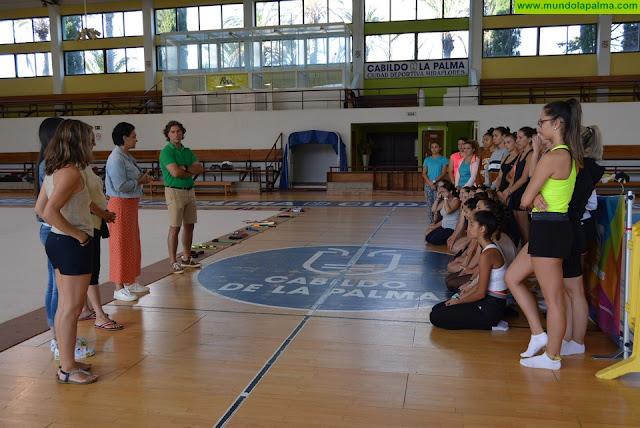 El Cabildo ofrece formación especializada a profesionales de la gimnasia rítmica